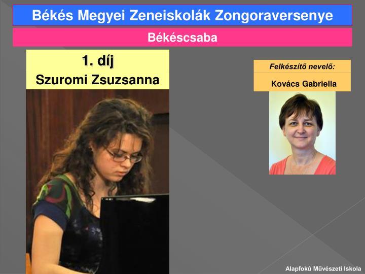 Békés Megyei Zeneiskolák Zongoraversenye