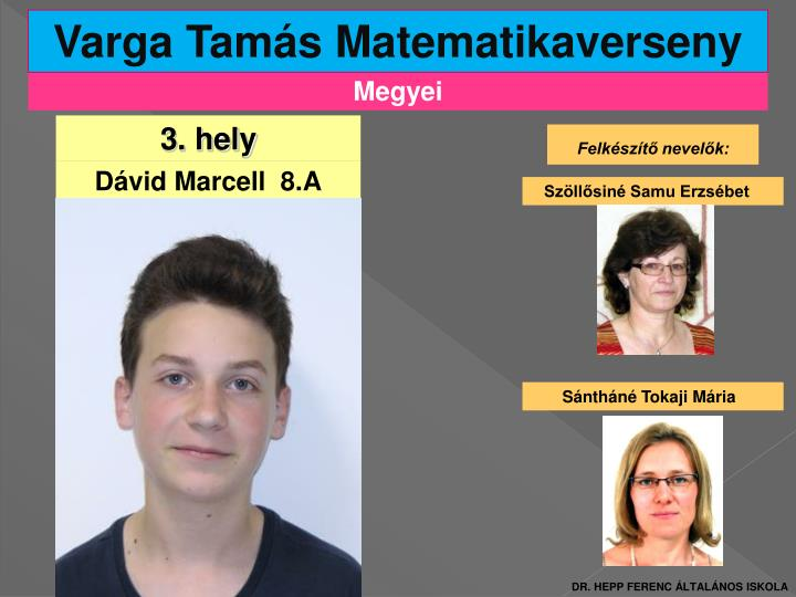 Varga Tamás Matematikaverseny