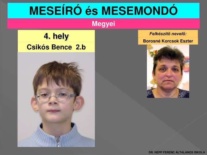 MESEÍRÓ és MESEMONDÓ
