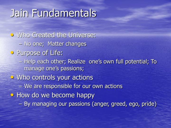 Jain Fundamentals