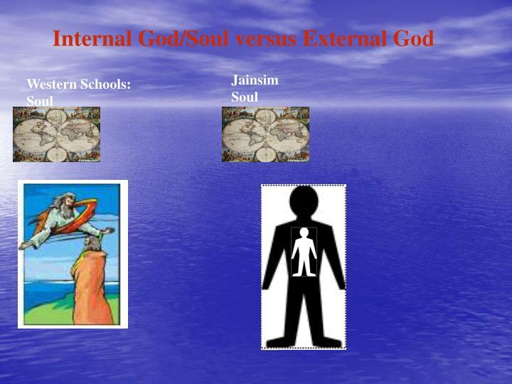 Internal God/Soul versus External God
