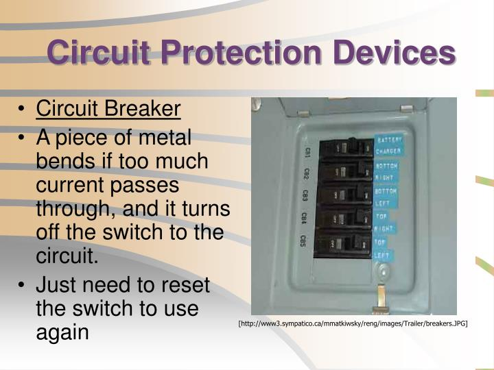 circuit protection devices How can the answer be improved.