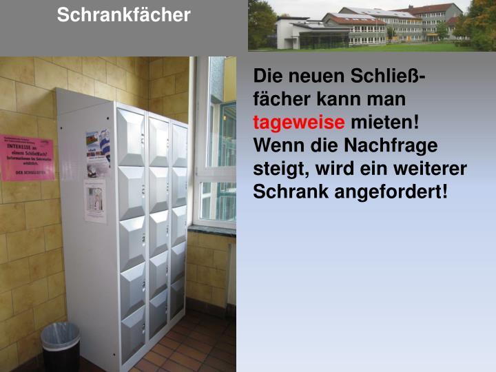 Schrankf cher