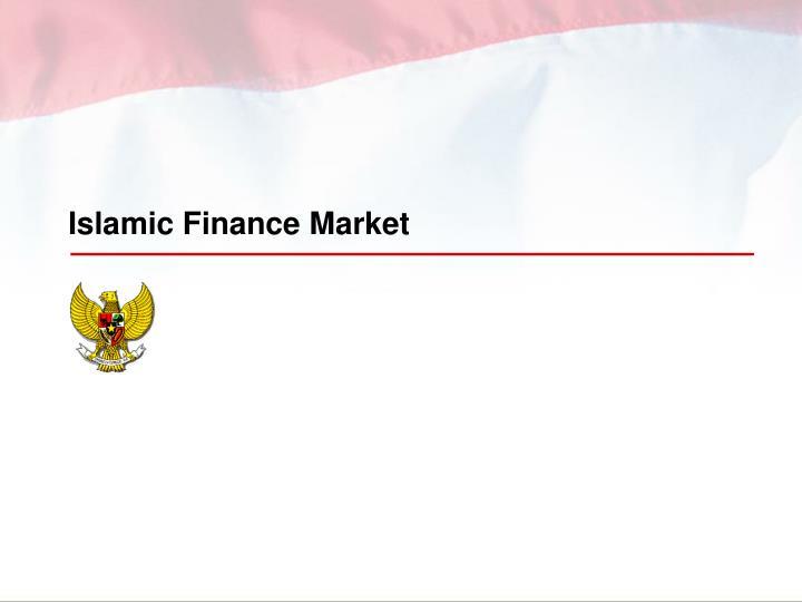 Islamic Finance Market