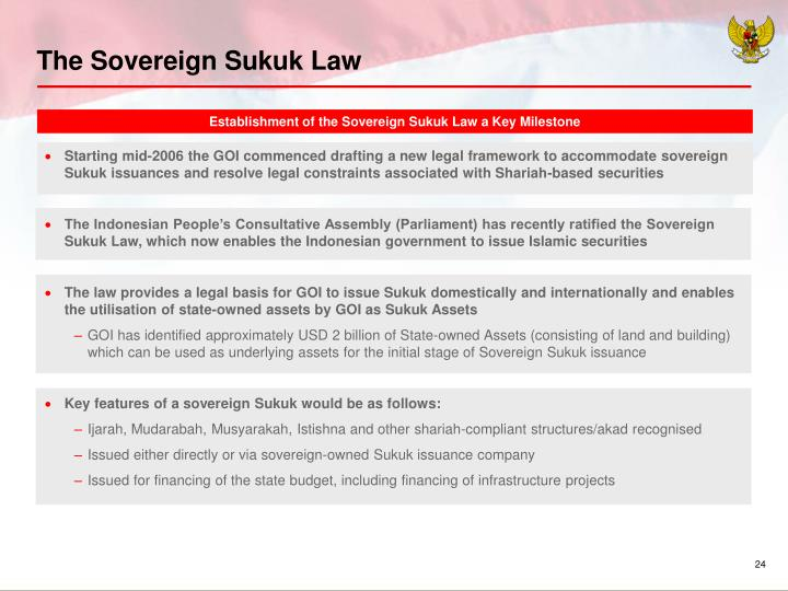 The Sovereign Sukuk Law