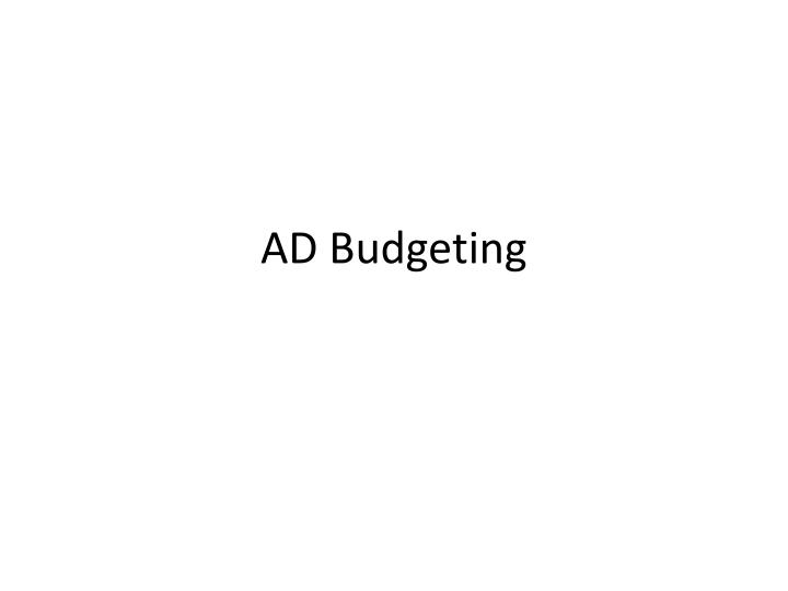 ppt ad budgeting powerpoint presentation id 4871925