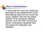 what is globalization1