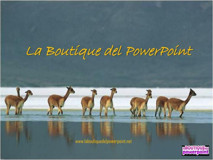 La Boutique del PowerPoint