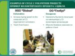 example of cycle 1 volunteer projects 12
