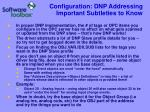 configuration dnp addressing important subtleties to know