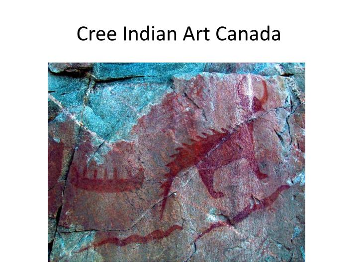 Cree Indian Art Canada