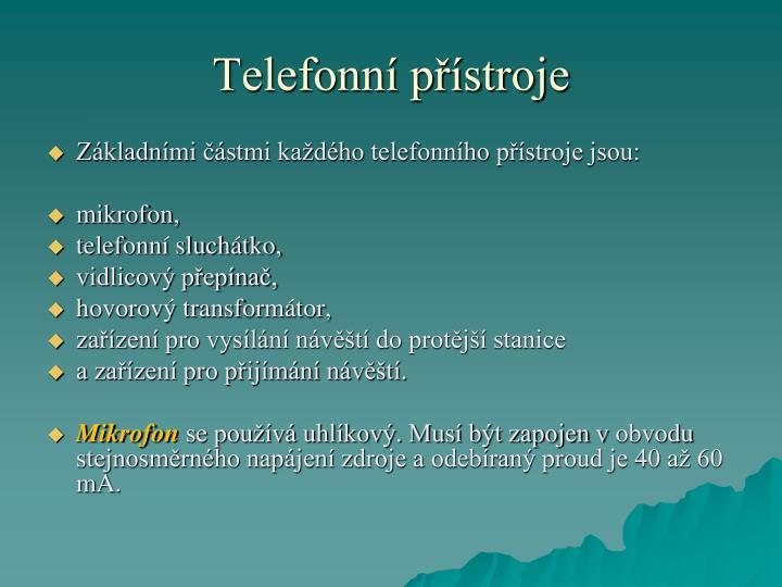 Telefonn p stroje1
