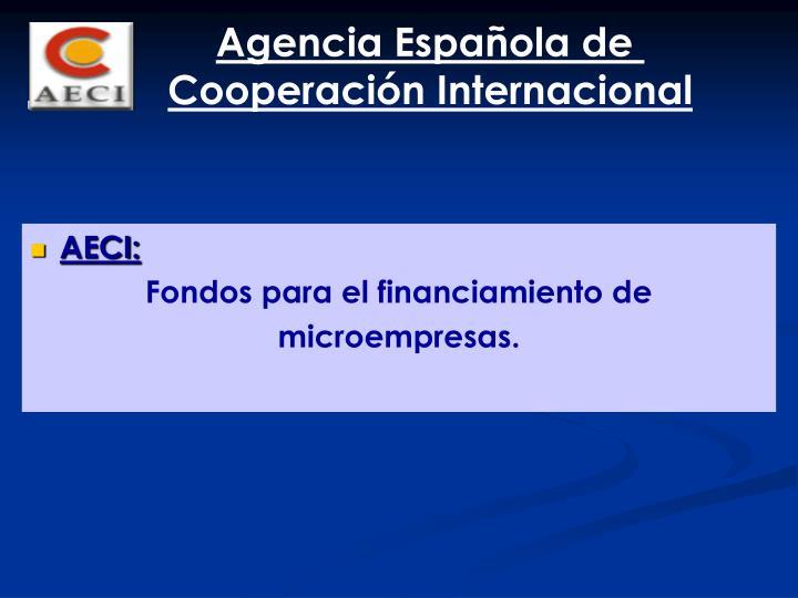 Agencia Española de