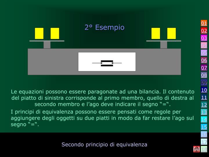 2° Esempio