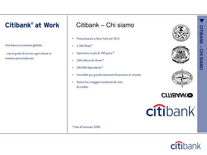 Citibank – Chi siamo