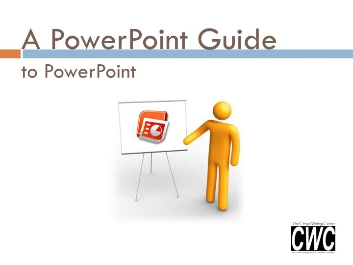 a powerpoint guide to powerpoint n.