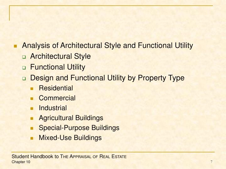 Analysis of Architectural Style and Functional Utility