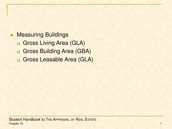 Measuring Buildings