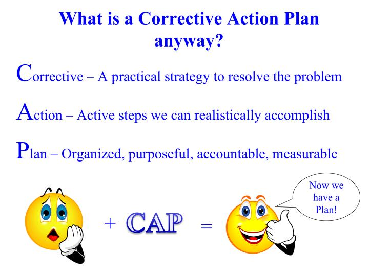 What is a Corrective Action Plan anyway?