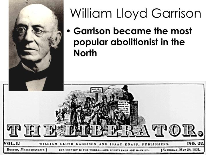 a rhetorical analysis of william lloyd garrisons to the republic Journal of the early republic 15 (1995): rhetorical strategies in uncle tom's cabin william lloyd garrison and the abolition of slavery.