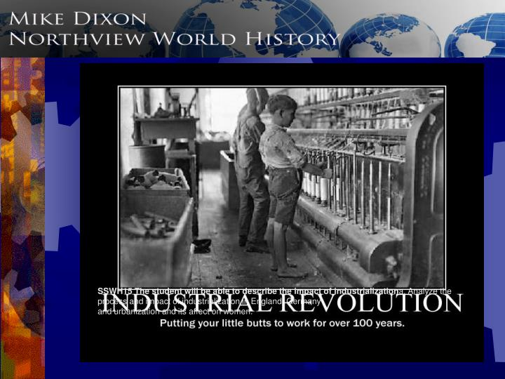 my analysis of the industrial revolution