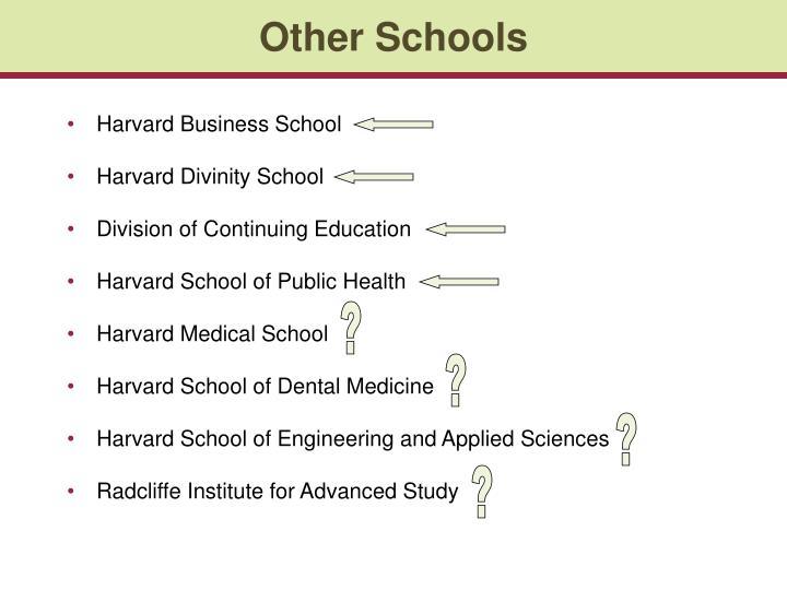 Other Schools