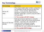 key terminology2
