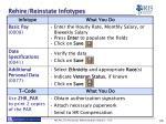 rehire reinstate infotypes2