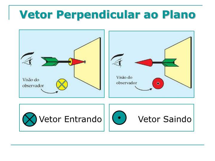 Vetor Perpendicular ao Plano