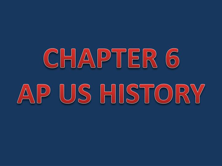 ap world chapter 6
