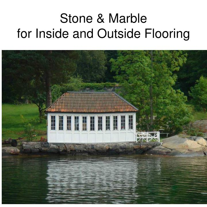 stone marble for inside and outside flooring n.