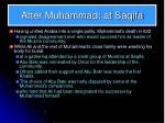 after muhammad at saqifa