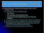 ali and the rashidoon khalifas2