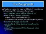 the pledge to ali1