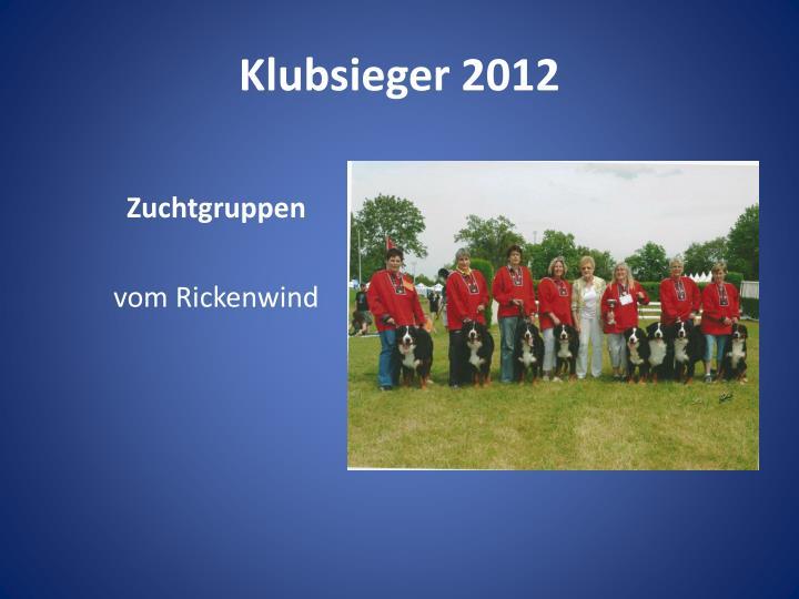 Klubsieger 2012