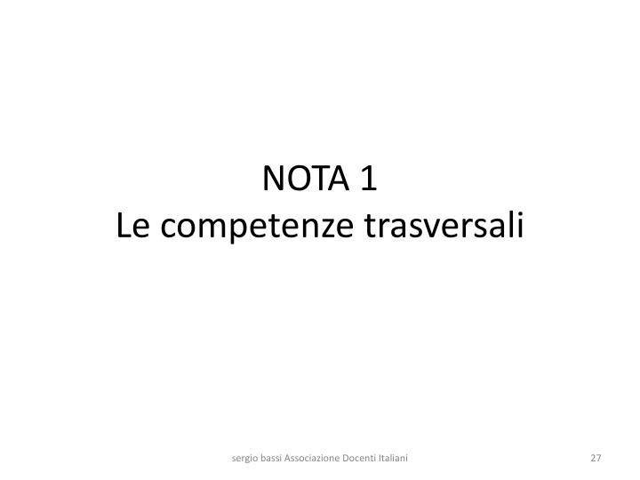 NOTA 1