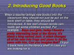 2 introducing good books