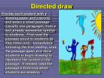 directed draw
