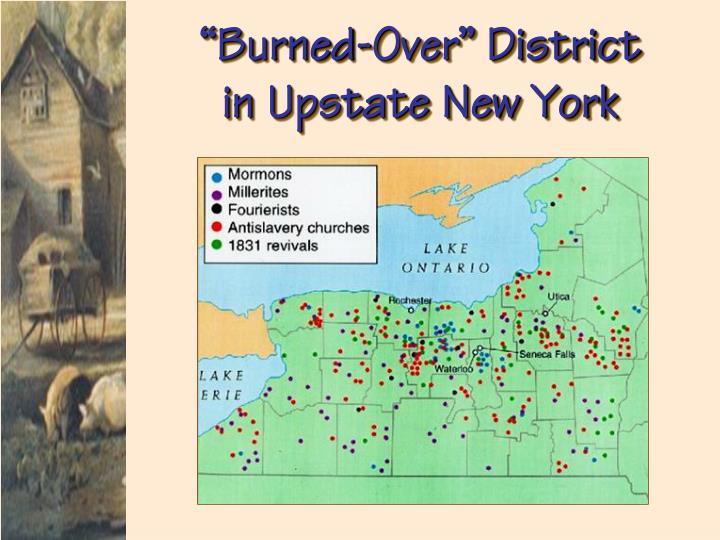 """Burned-Over"" District"