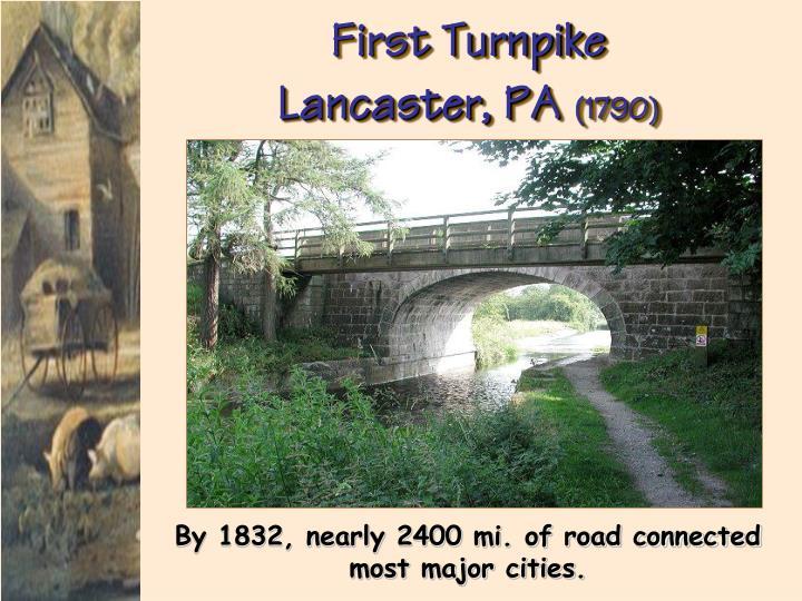 First Turnpike