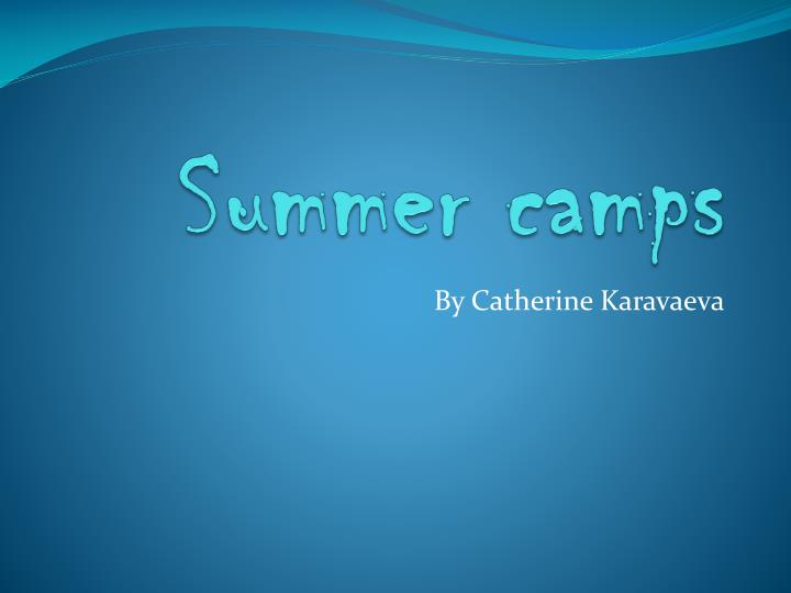 summer camps n.