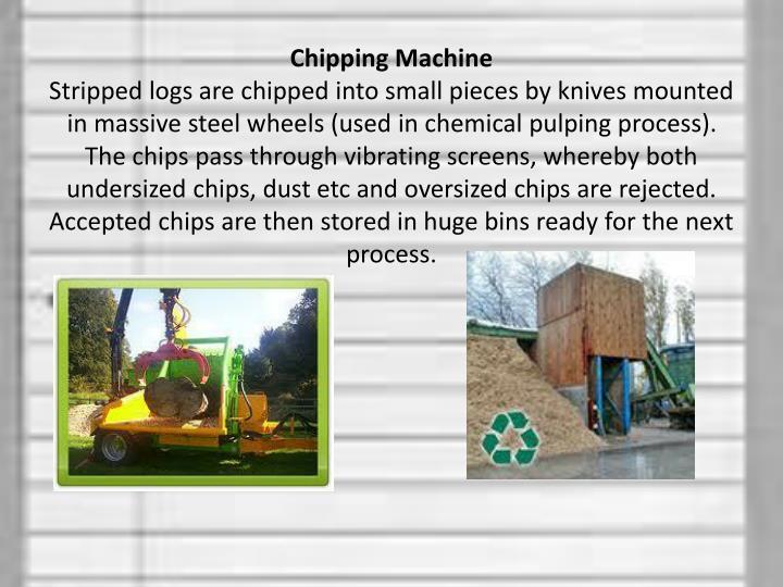 Chipping Machine