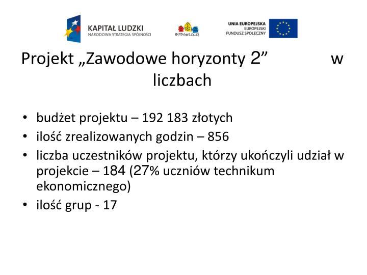 """Projekt """"Zawodowe horyzonty"""