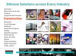 silicone solutions across every industry