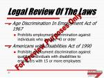 legal review of the laws1