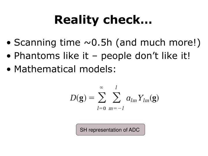 SH representation of ADC
