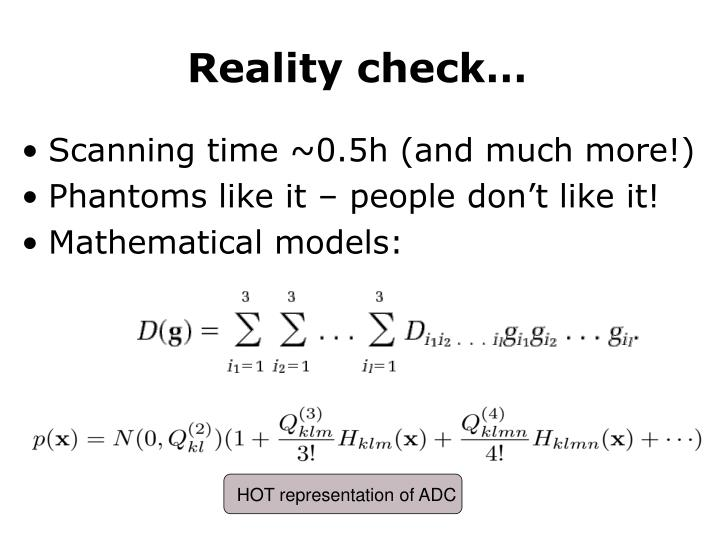 HOT representation of ADC