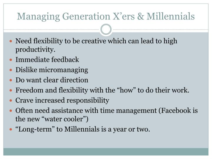"""managing generation But what about """"generation z,"""" the generation born after millennials that is emerging as the next big thing the managing partner of millennial."""