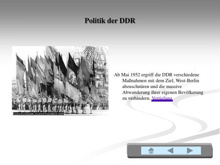Politik der DDR