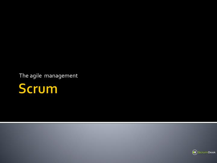 the agile management n.